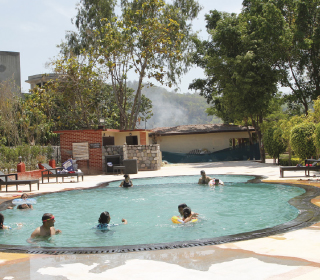 Swimming Pool at Manu Maharani